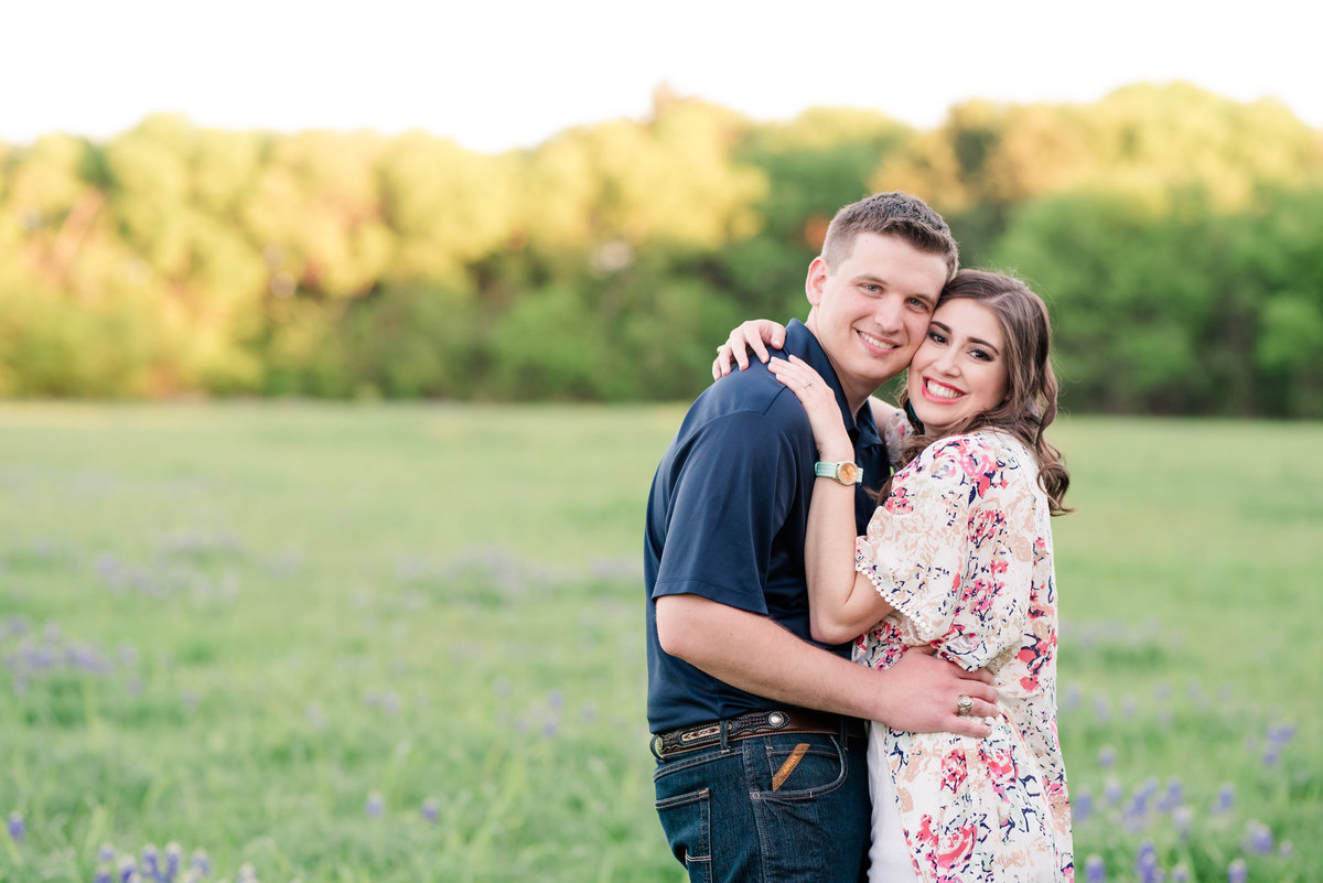 Bluebonnet Engagement Photos Dallas