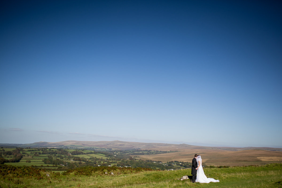wedding photography on dartmoor in devon