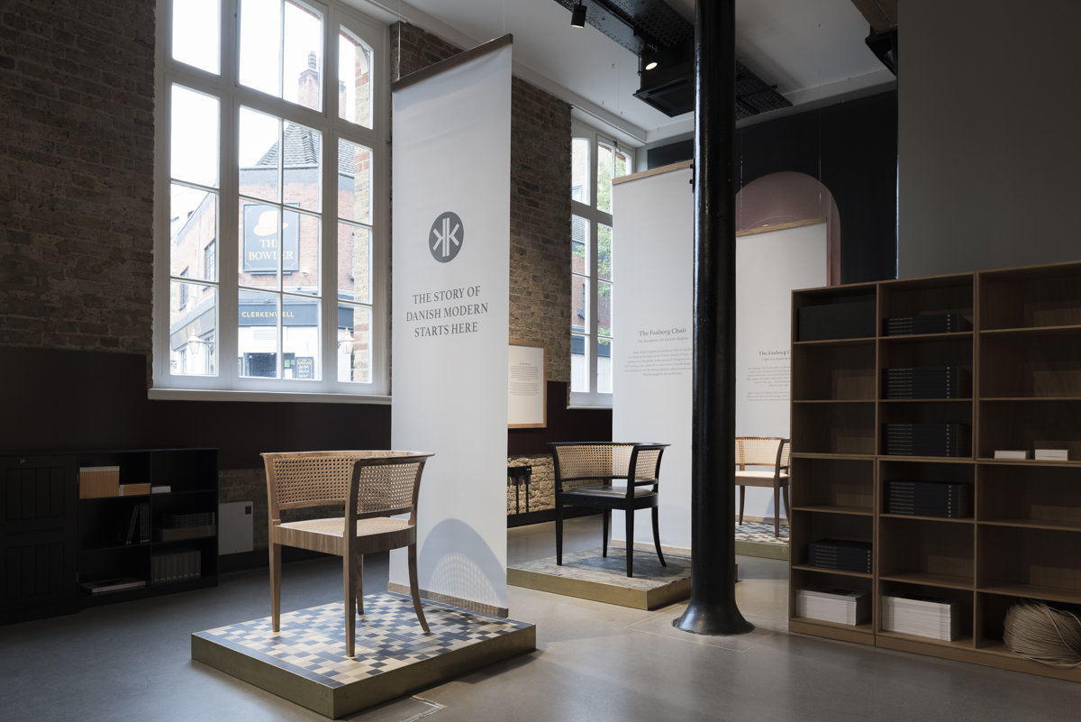 danish modern design showroom carl hansen and son