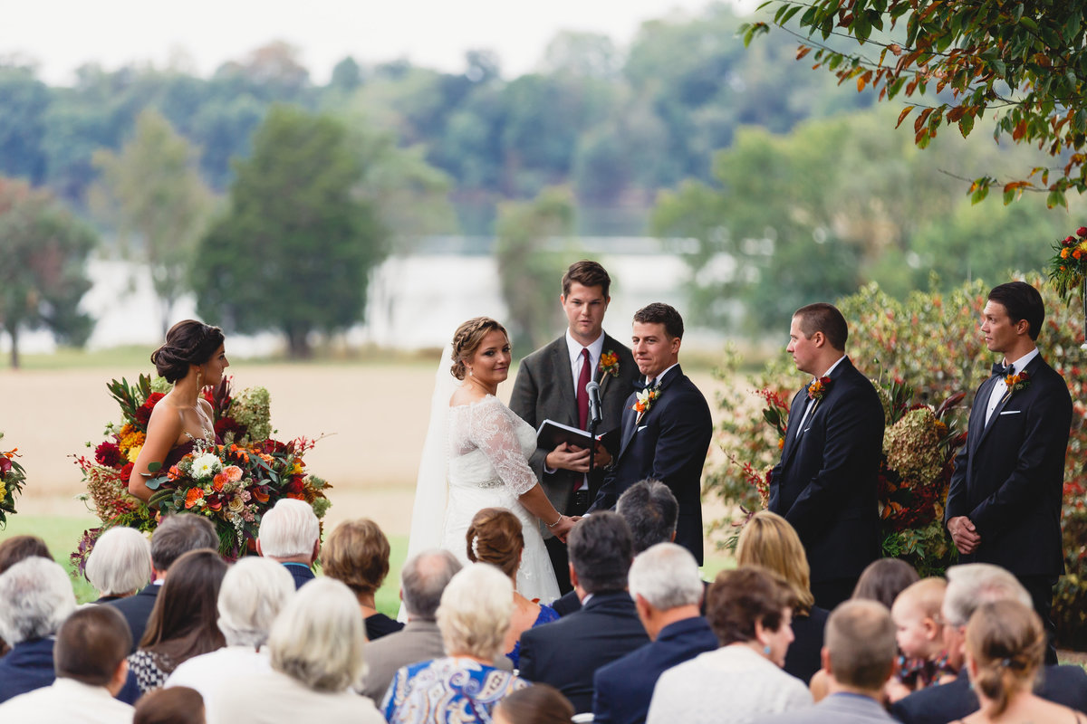 Maryland Wedding Photographer Brittland Manor Ceremony Tented Reception 126