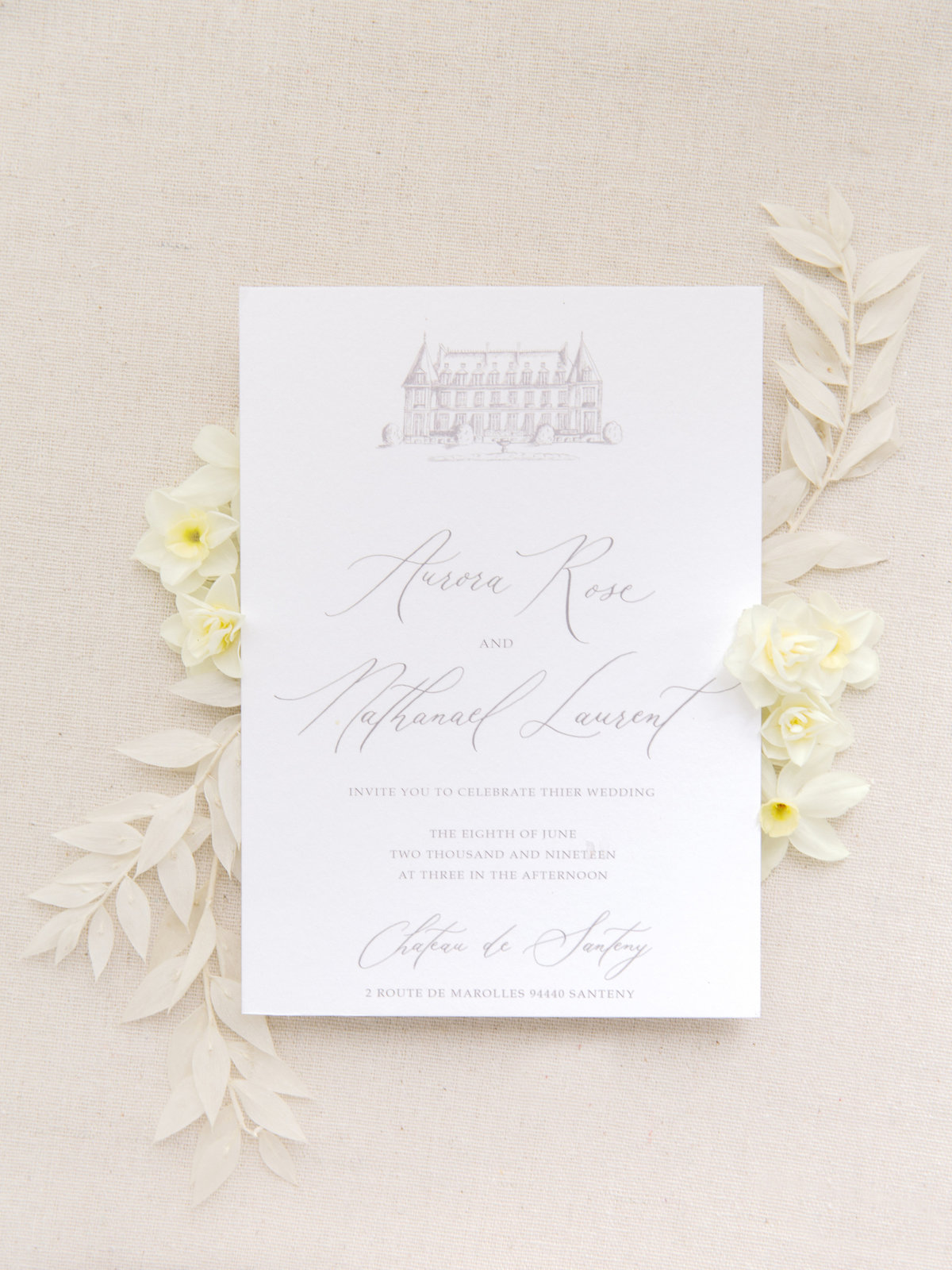 Luxurious french chateau wedding amelia soegijono0050