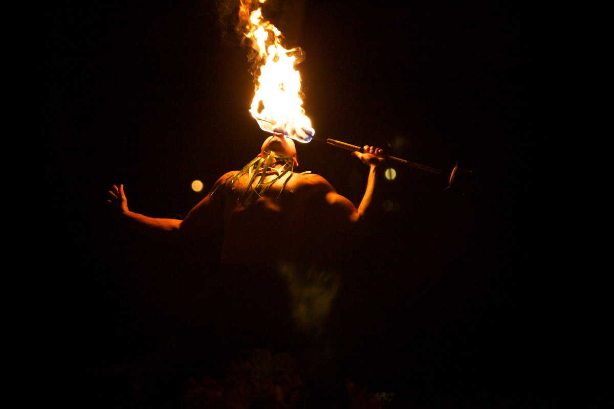 Big Island Fire Dancer