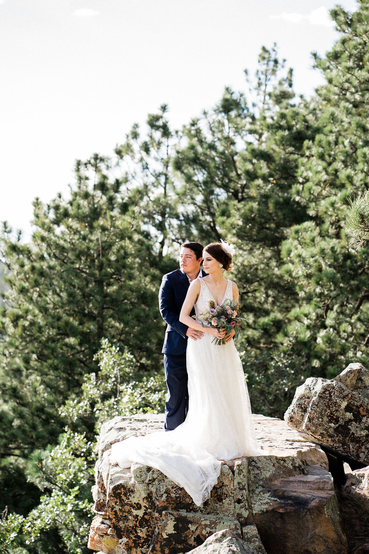 Mountain Elopement Wedding In Arizona  - Atlas Rose Photography AZ 01
