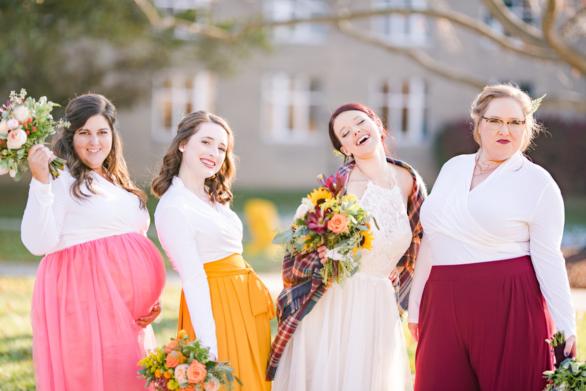 Urban Artifact Brewery Colorful Fall Wedding-121