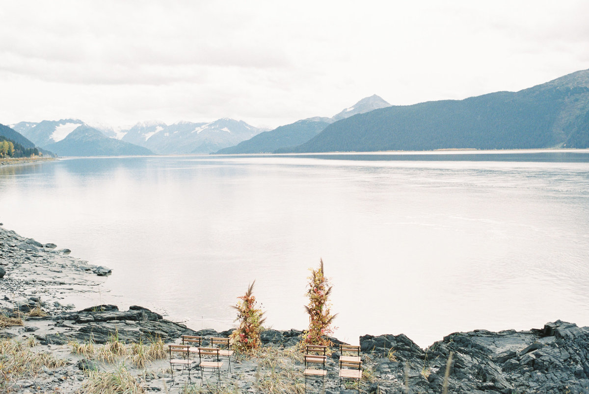 Alaska elopement Turnagain Arm Girdwood