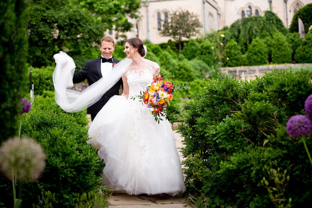 A wedding at Washington National Cathedral