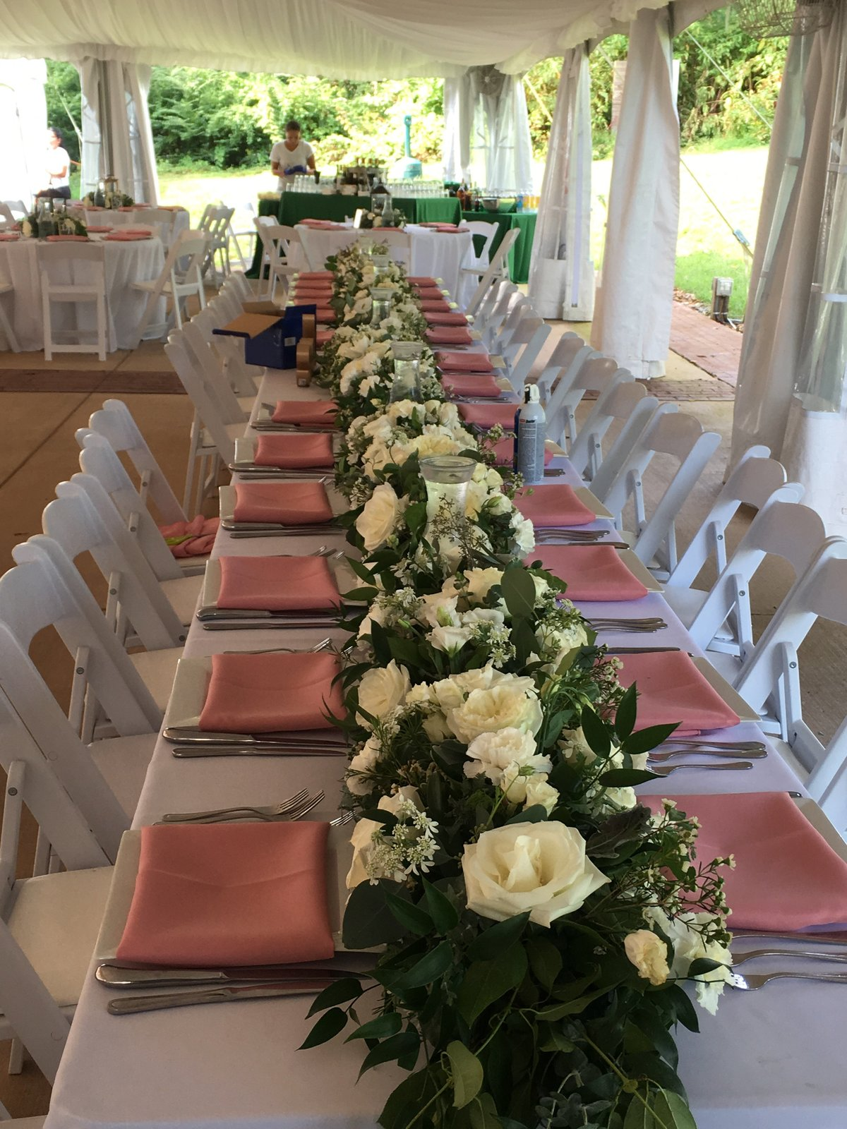 Summer wedding at the  Oatlands Plantation