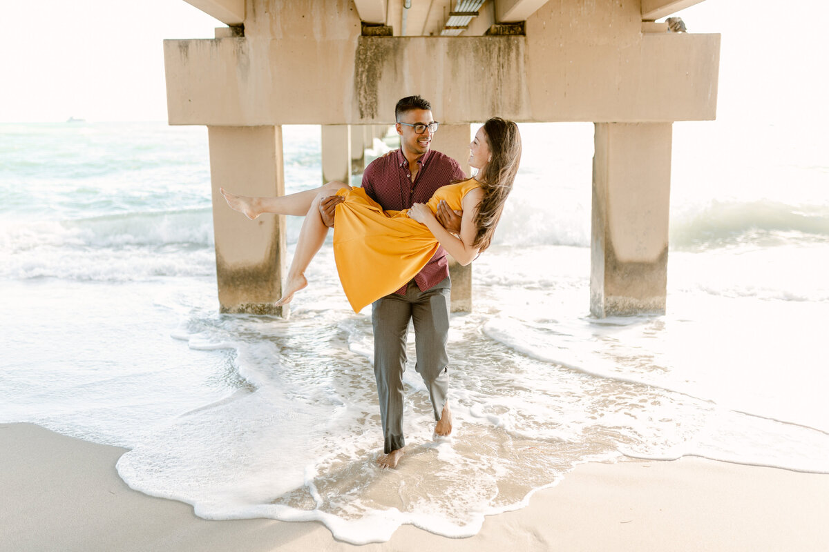 Sunny Isles Beach Engagement Photography Session 10