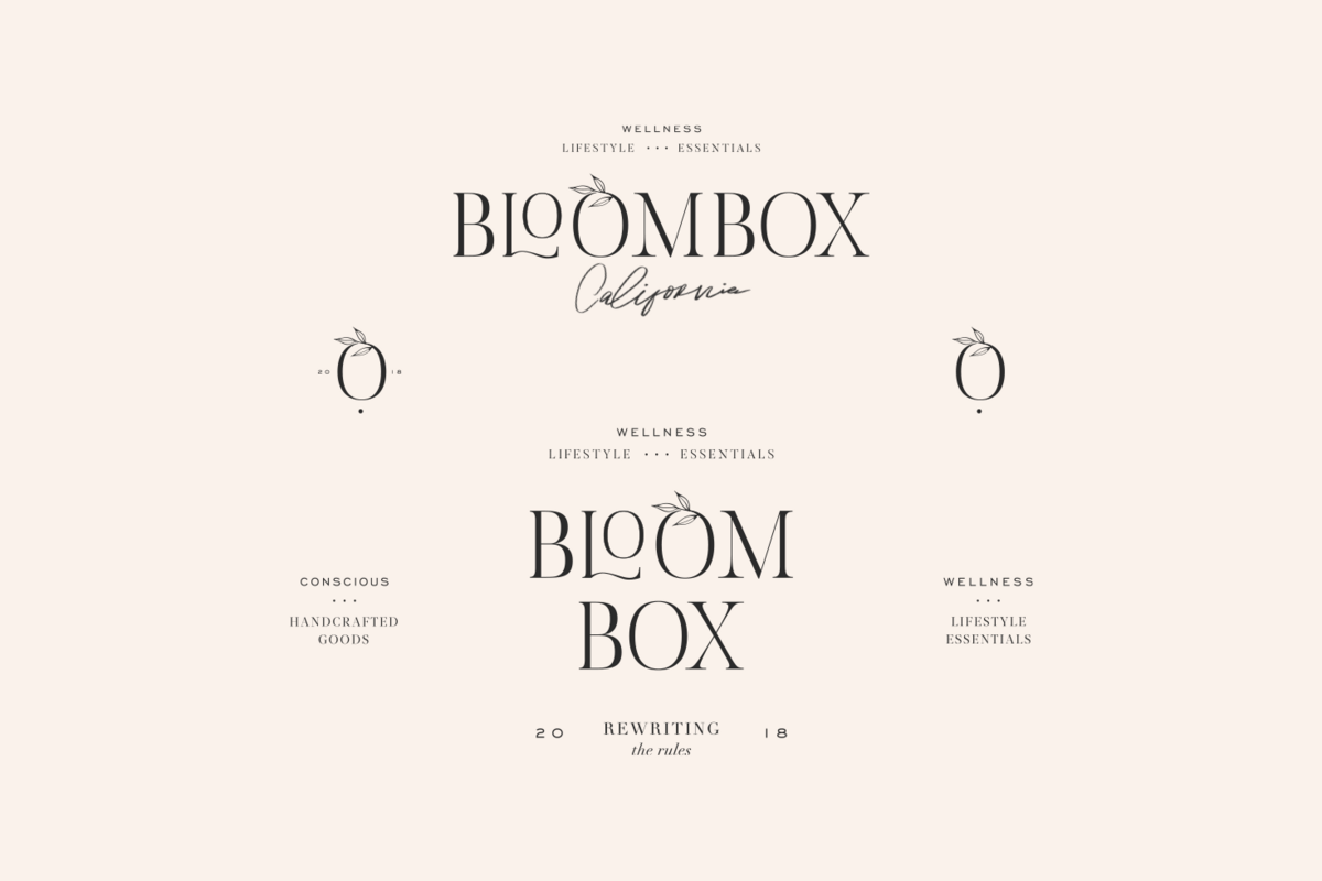 Bloombox California Wellness and Lifestyle Essentials; Conscious Handcrafted Goods