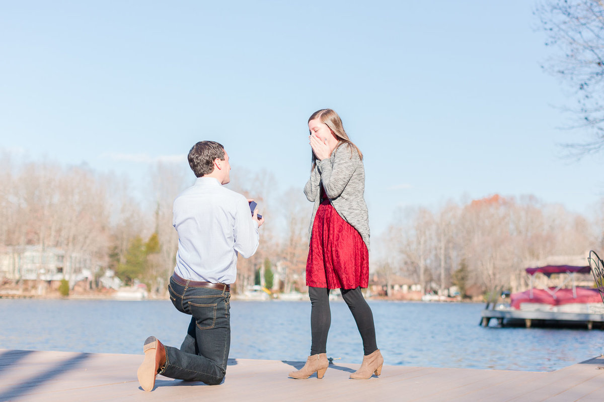 Stephen + Taylor s Proposal At Lake of The Woods