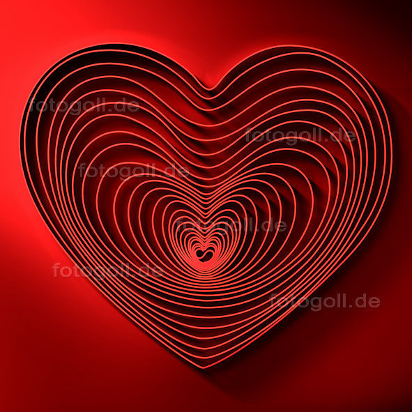 FOTO GOLL - HEART CANVASES - 20120119 - How Deep Is Your Love_Square