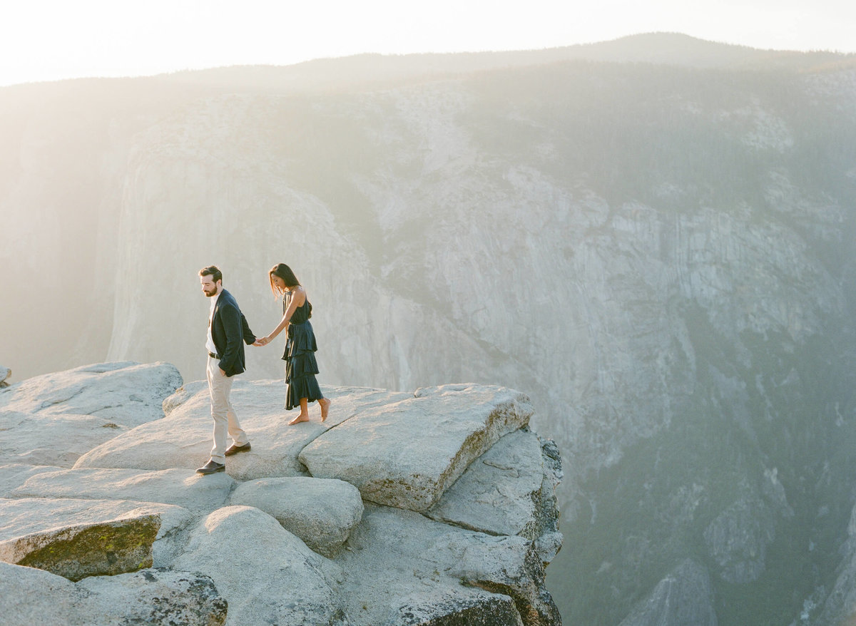 67-KTMerry-engagement-photography-mountain-top-Yosemite