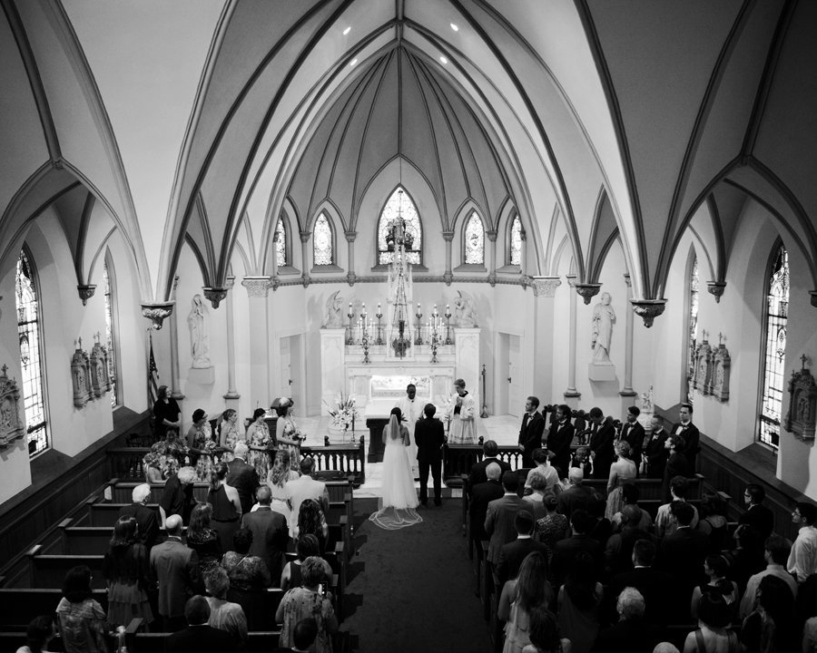 Harpers Ferry WV Church Wedding
