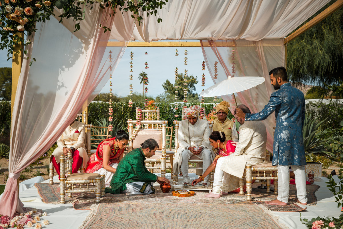 Indian Wedding in Scottsdale AZ Hindu-74