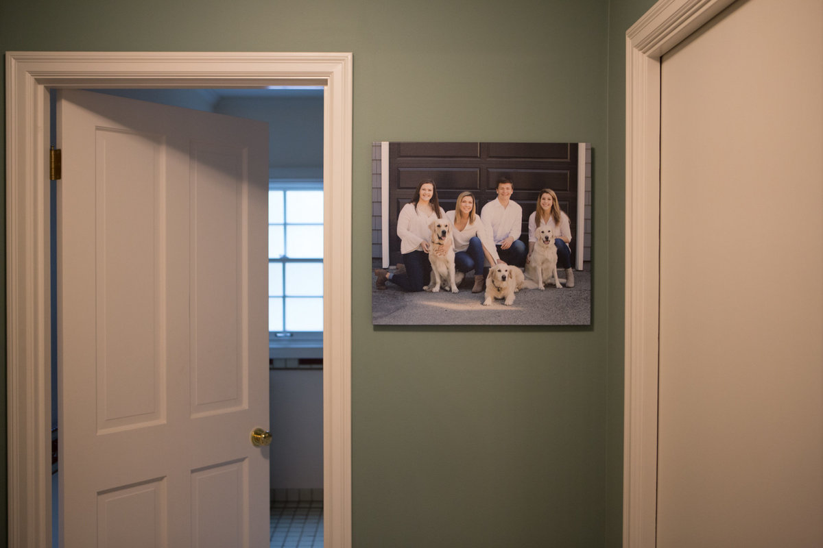Finished Product Family Photography Canvas Wall Art