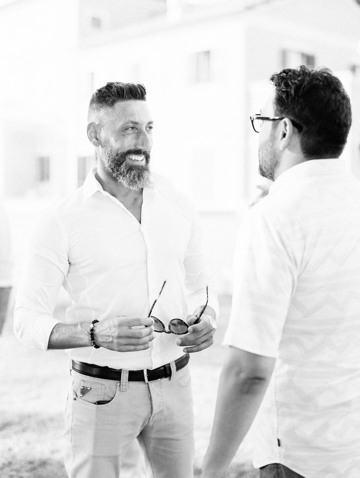 cocktail hour at wedding in rome film wedding photographer