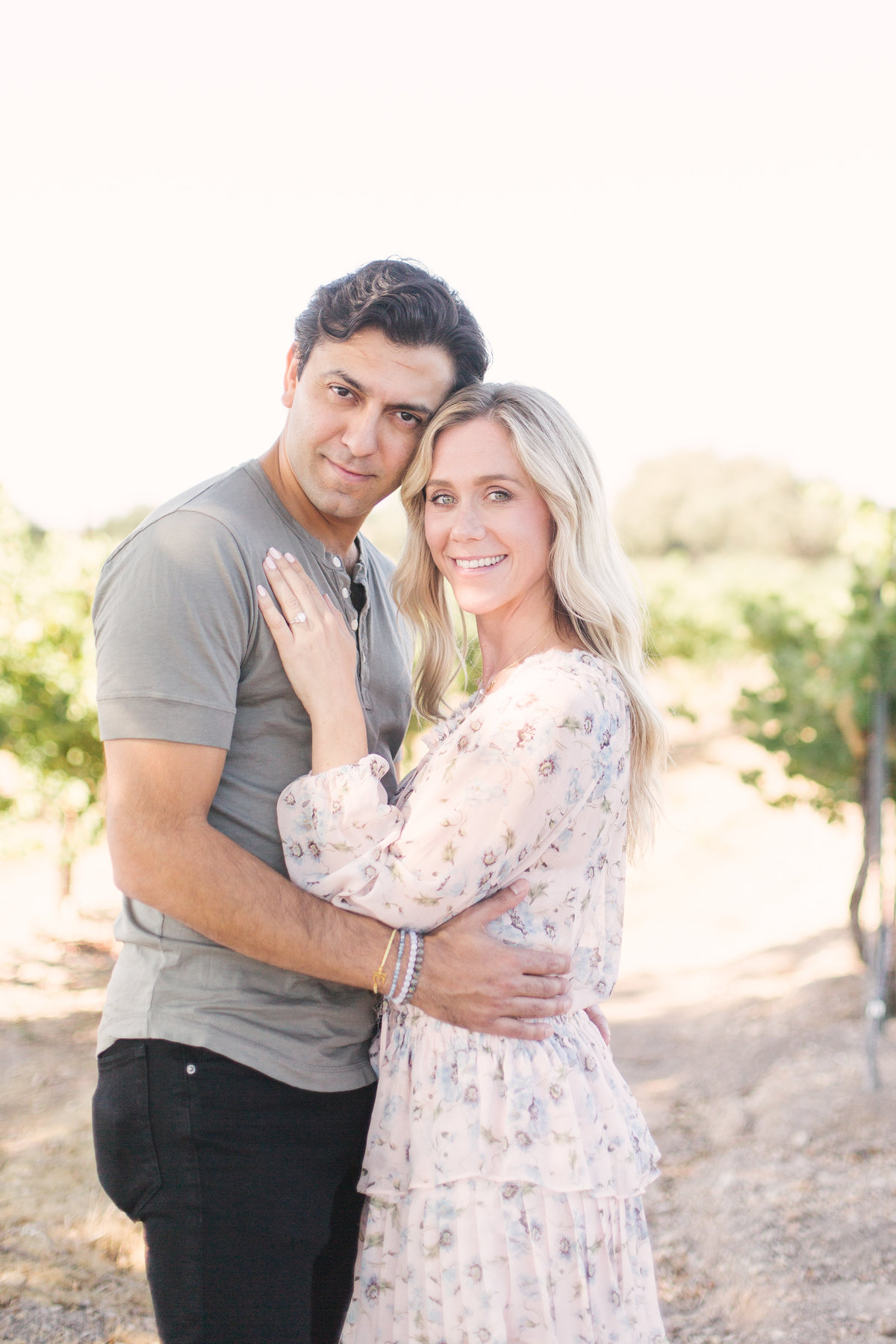 All smiles after Firestone Vineyard proposal
