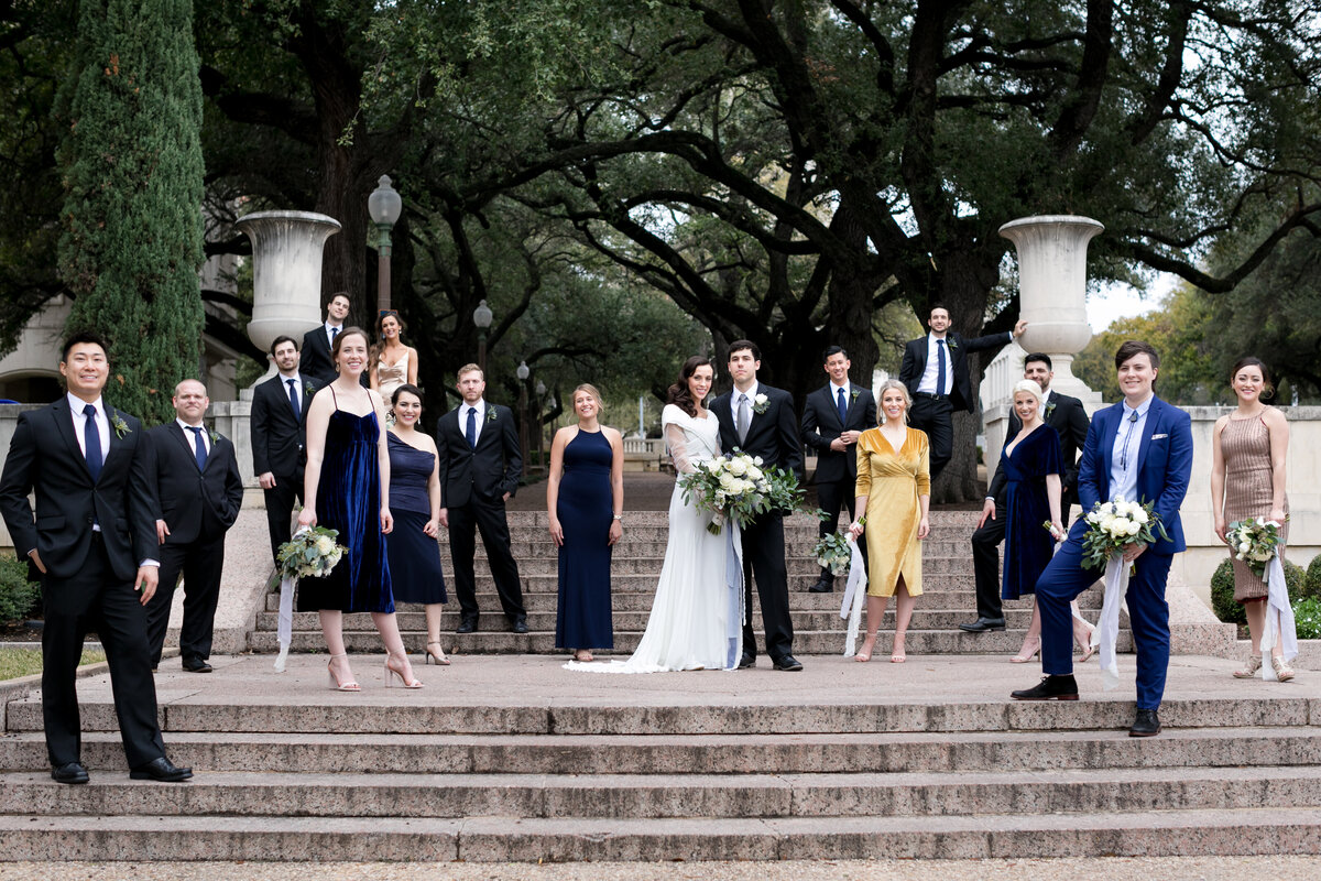 UT campus wedding photos