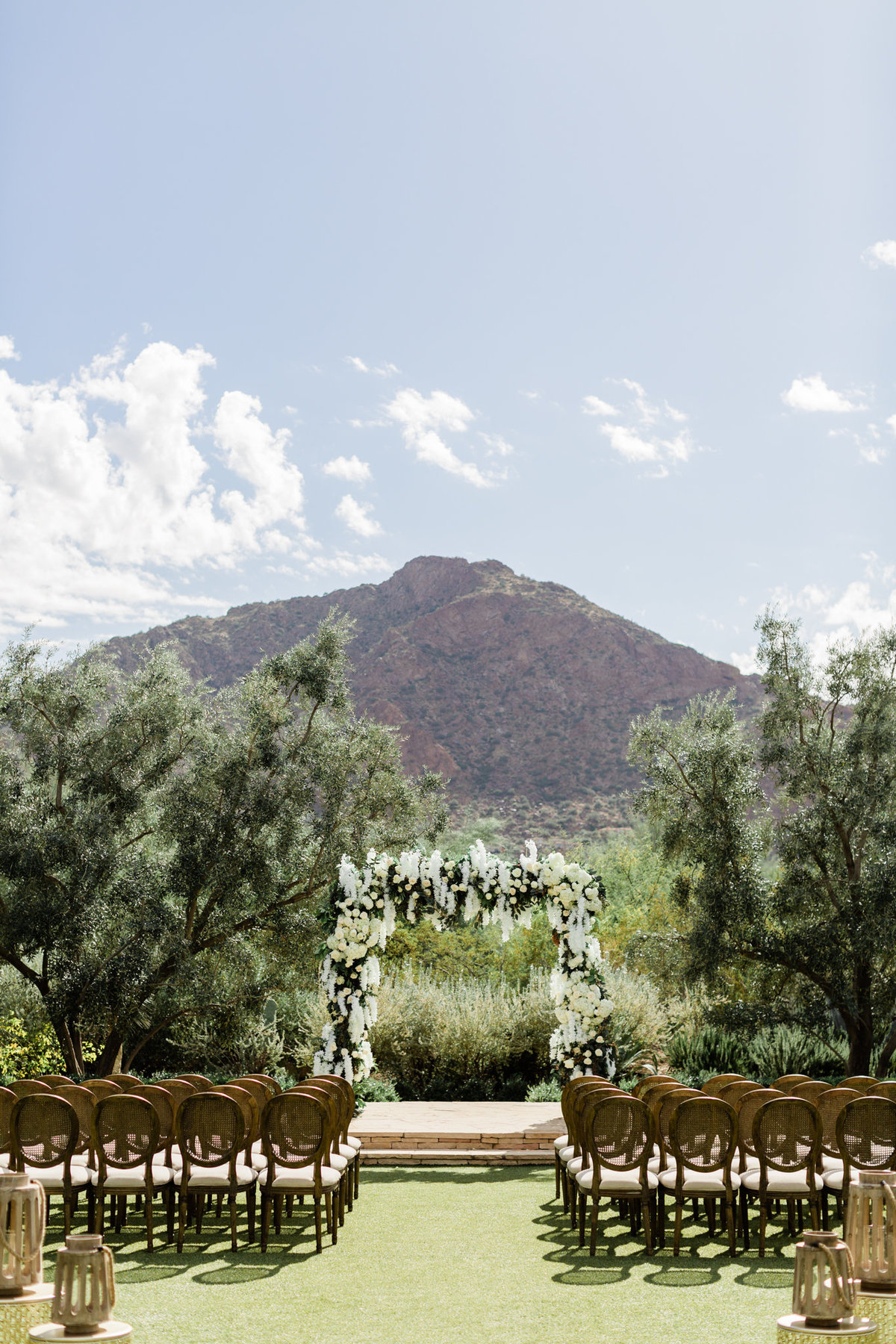 el chorro arizona wedding ceremony