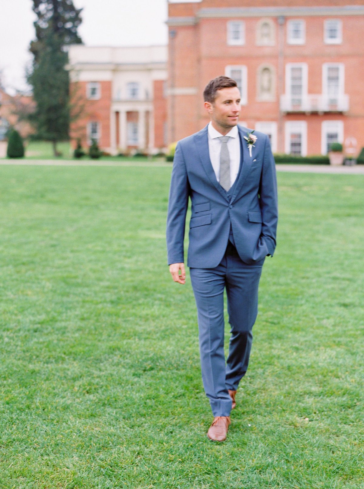 Hampshire Wedding Groom Suit