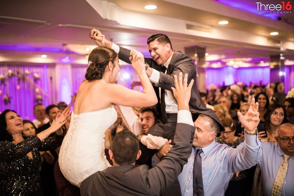 Brandview Ballroom wedding reception photographer