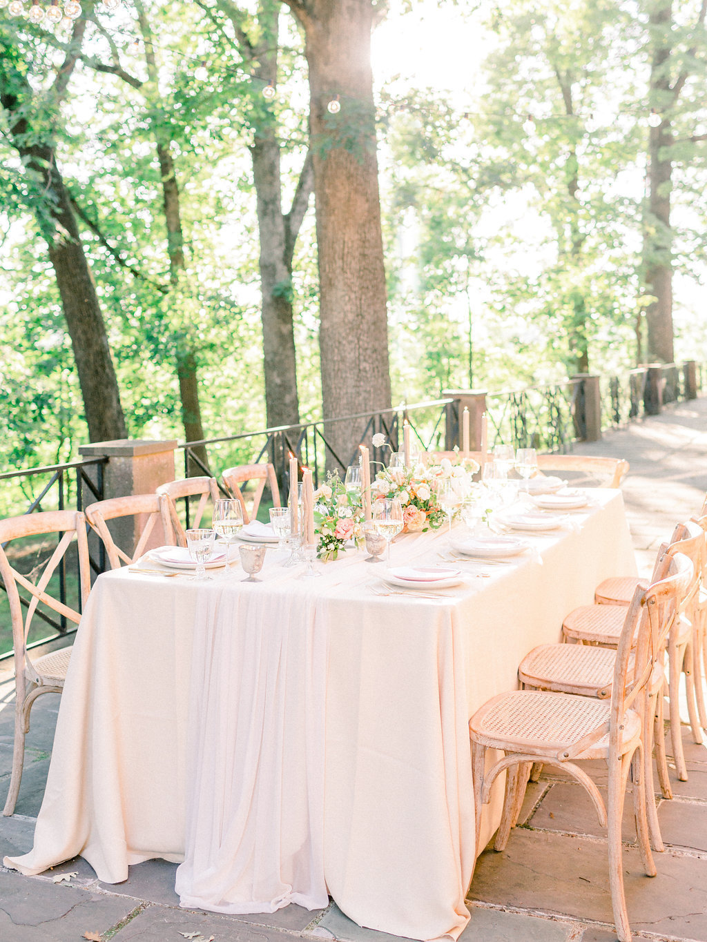 Summer Wedding Tyler Gardens Philadelphia reception