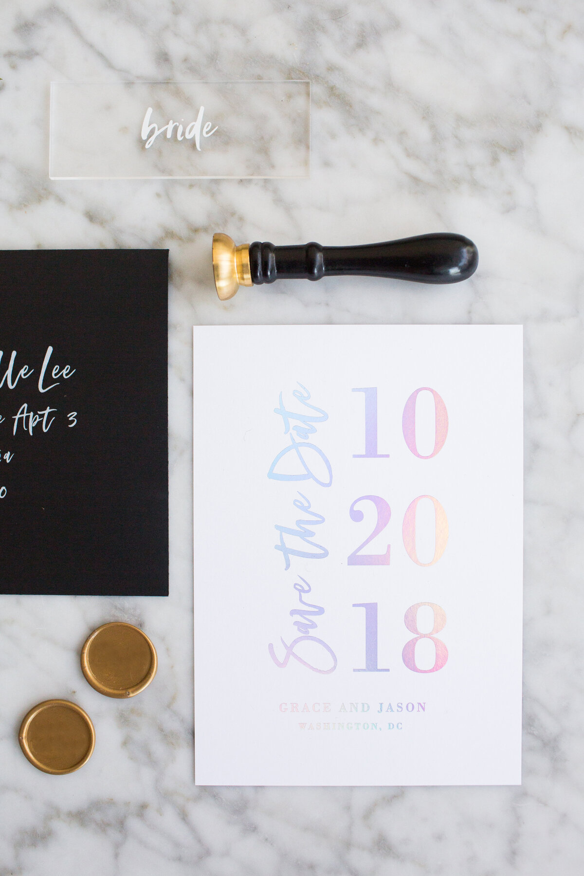 Bridget-Goldsmith-Holographic-Foil-Save-The-Date