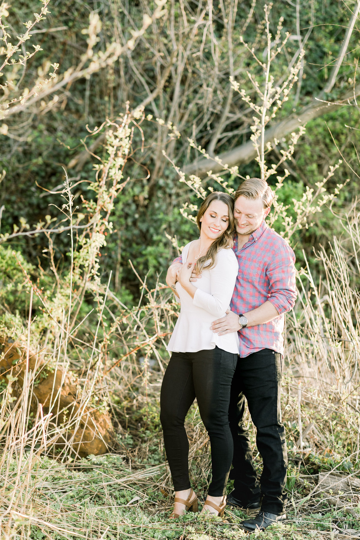 Ashley & Lou_Engaged_Path_1124