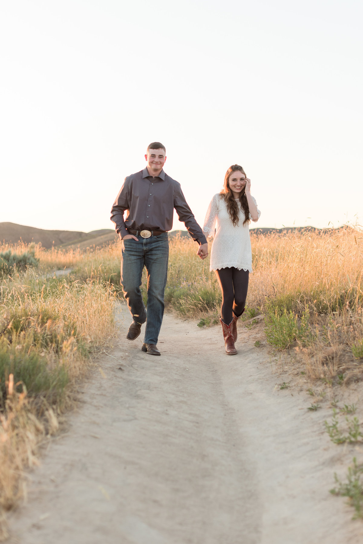 Spring Boise Foothills Engagement Shoot17