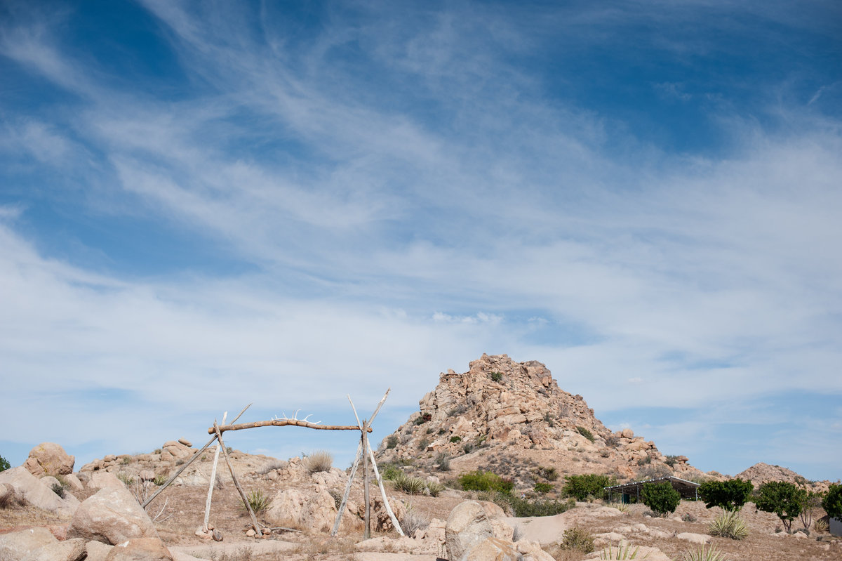 Destination Wedding Photography Joshua Tree Wedding Photography Le Haut Desert Aerie001