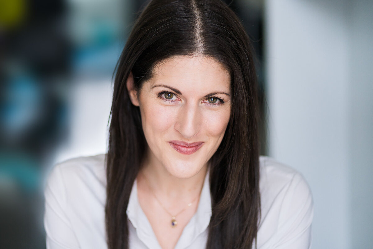 headshot of female toronto actor