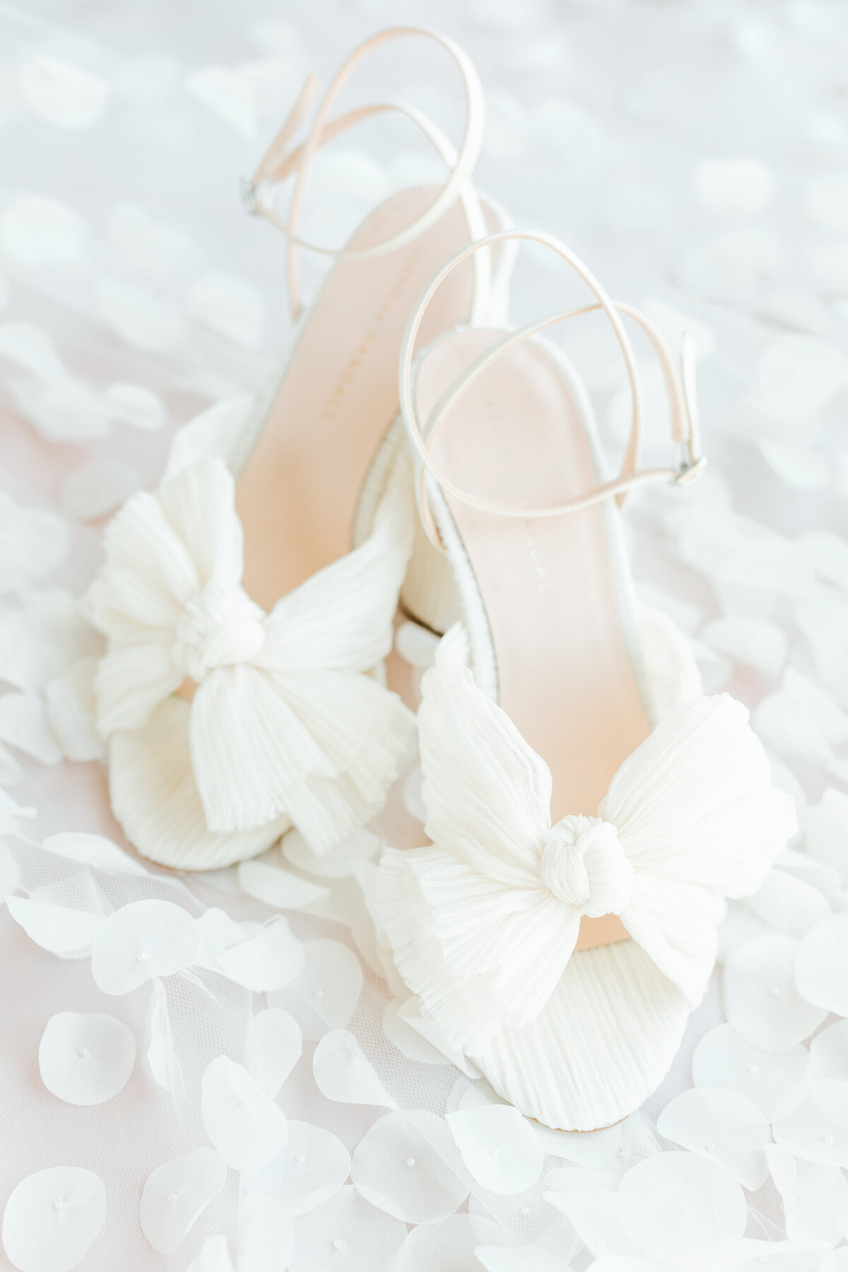 Elegant Bridal Shoes Wedding Flataly