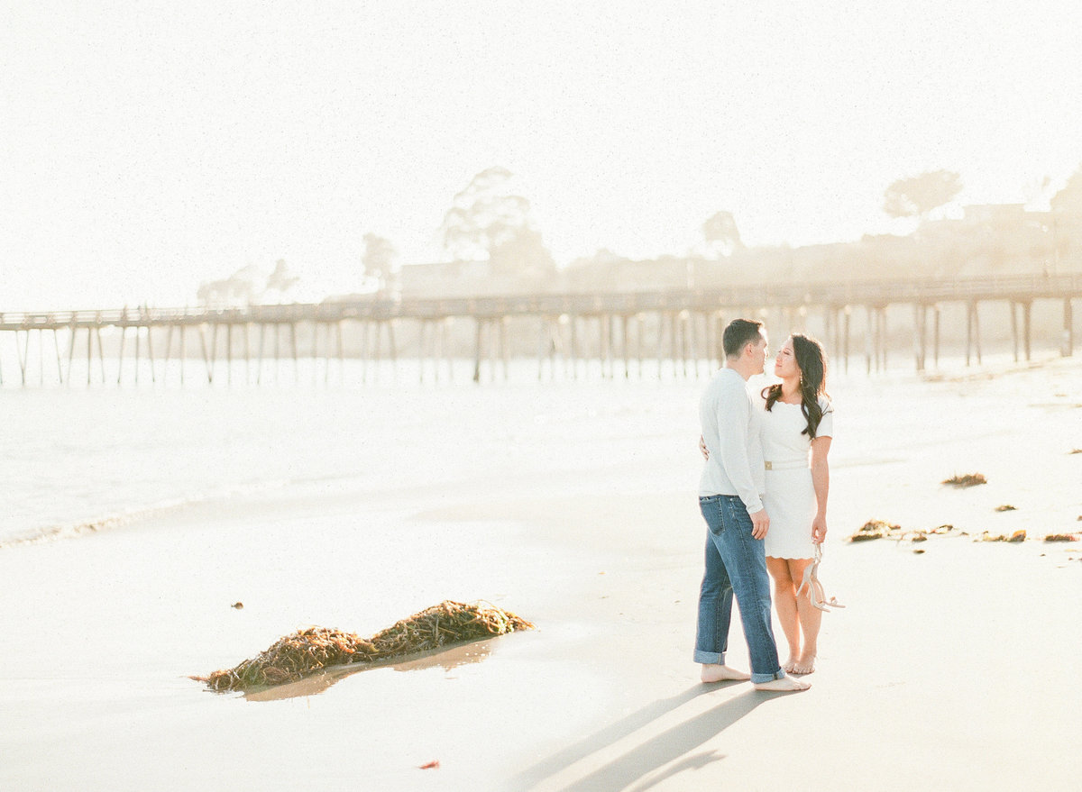 Evonne and Darren Capitola Beach Images