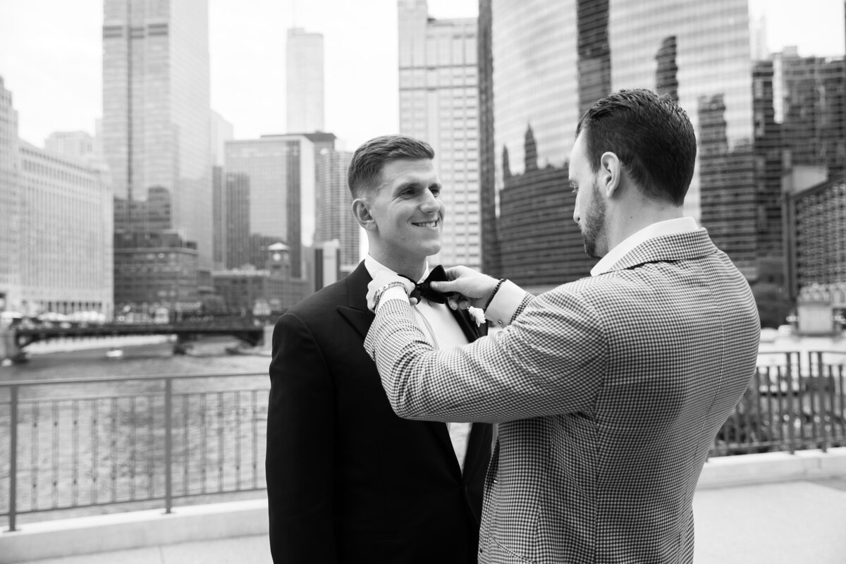 gps-vranas-wedding-chicago-custom-tuxedo-the-drake-bow-tie-chicago-river-walk
