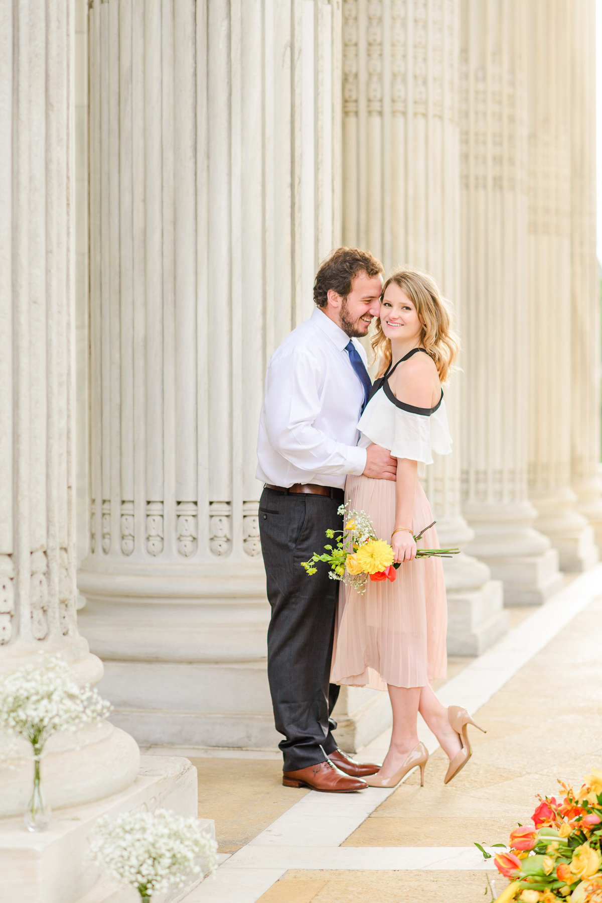 DC Sunrise Engagement Session-DAR Constitution Hall (39)