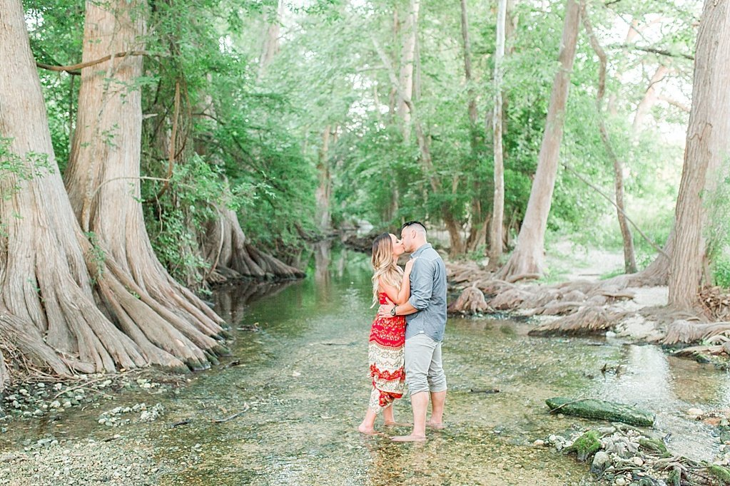 summer engagement photos at Cibolo Nature Center in Boerne, Texas_0025