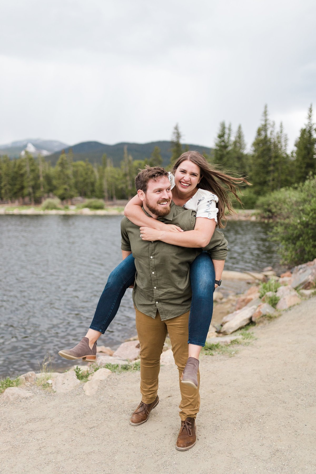 Engagement photos in Denver CO