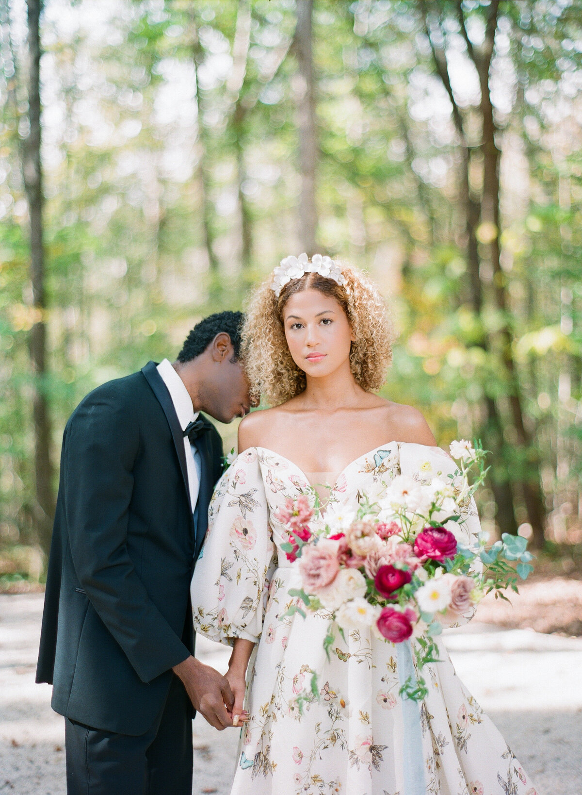 Carolina Grove Monet Inspired Wedding Photography, North-Carolina 11