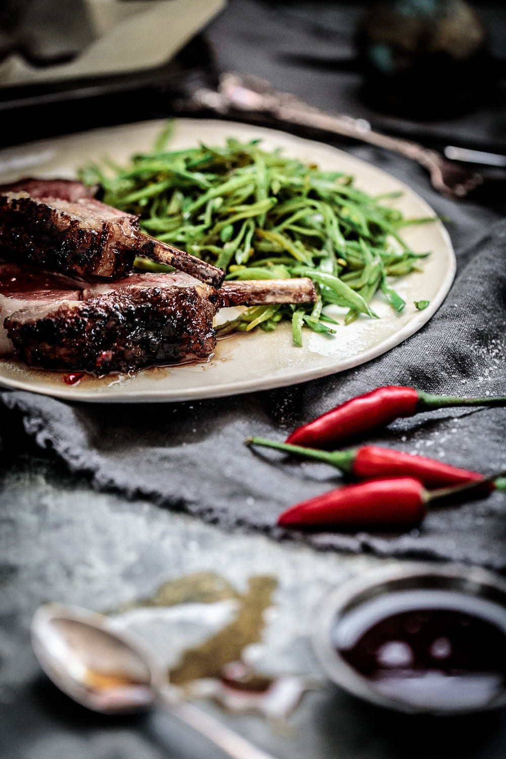 Lamb Rack In Caramelised Shaoxing Sauce | Anisa Sabet | The Macadames-1814