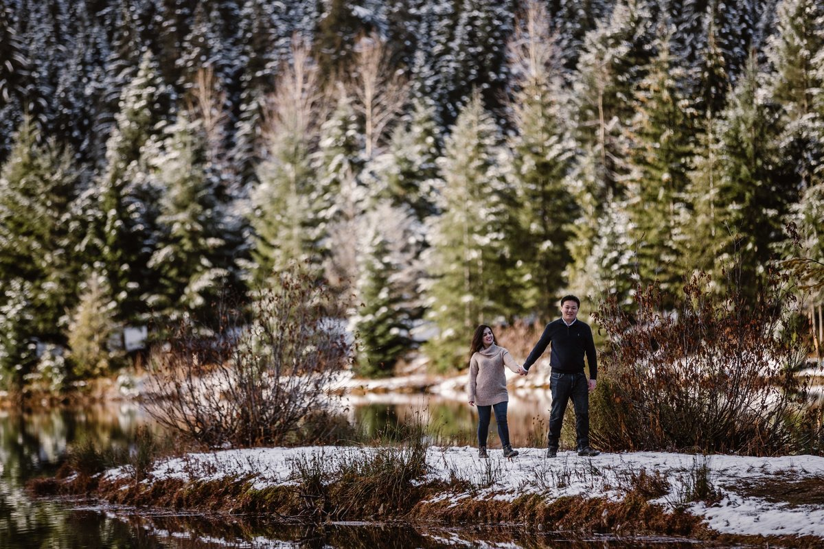 Top engagement photographer in PNW