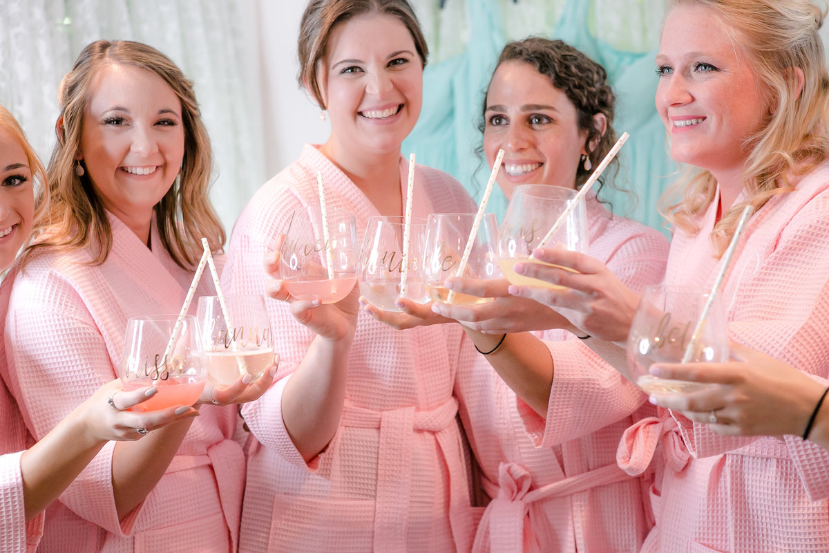Austin Family Photographer, Tiffany Chapman Photography bridesmaids cheers photo