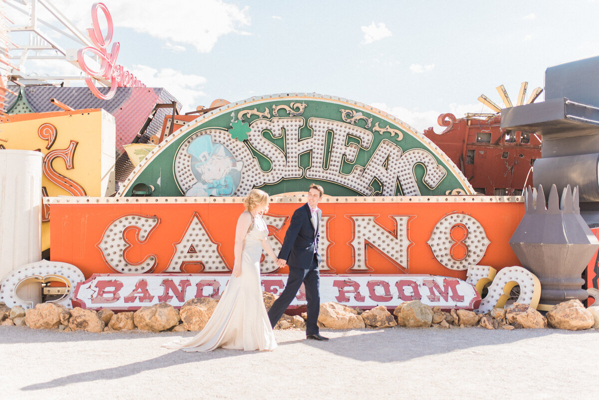 neon museum wedding las vegas
