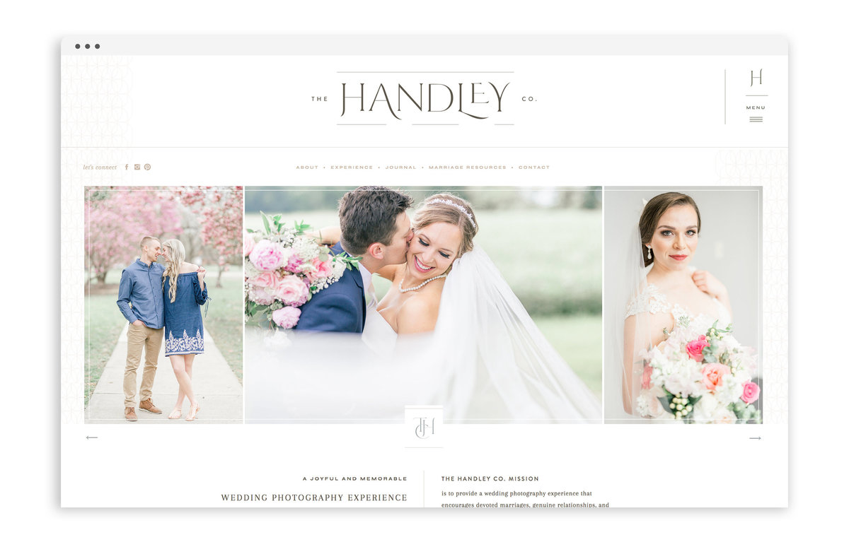Tristan Handley - The Handley Co - Custom Brand Logo and Showit Website Design by With Grace and Gold - 22