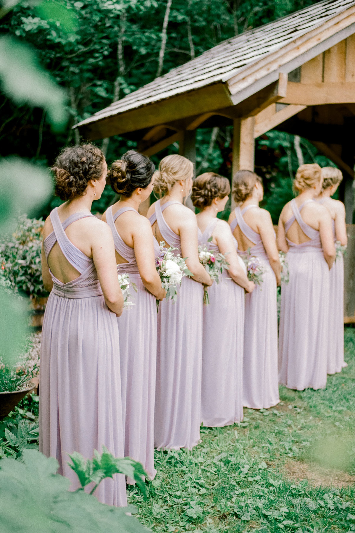 Girdwood bridal party