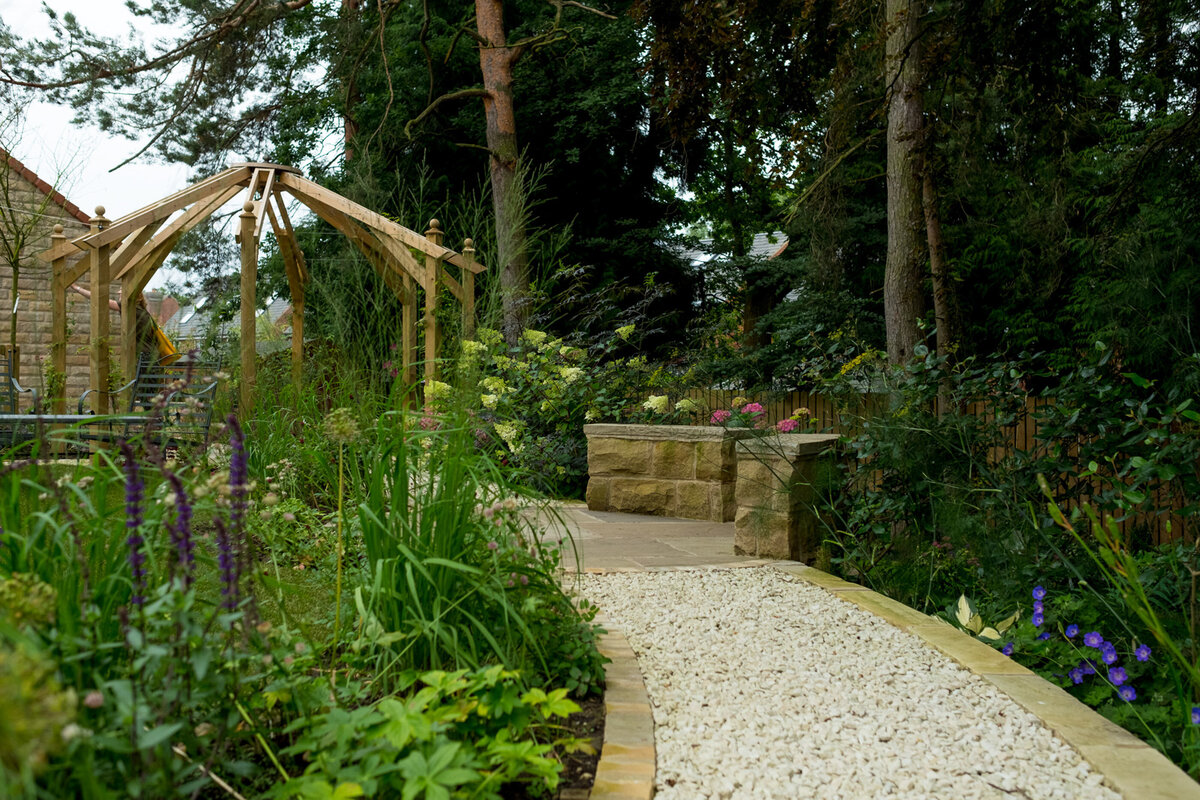 Commercial garden photographer Leeds