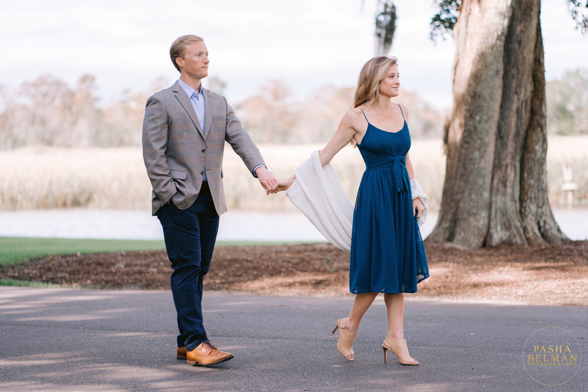 Caledonia Golf and Fish Club Engagement Session with Greer and Ben by Pasha Belman Photography-12