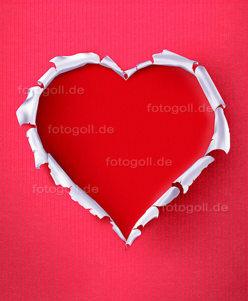 FOTO GOLL - HEART CANVASES - 20120119 - Tore My Heart Out_Portrait