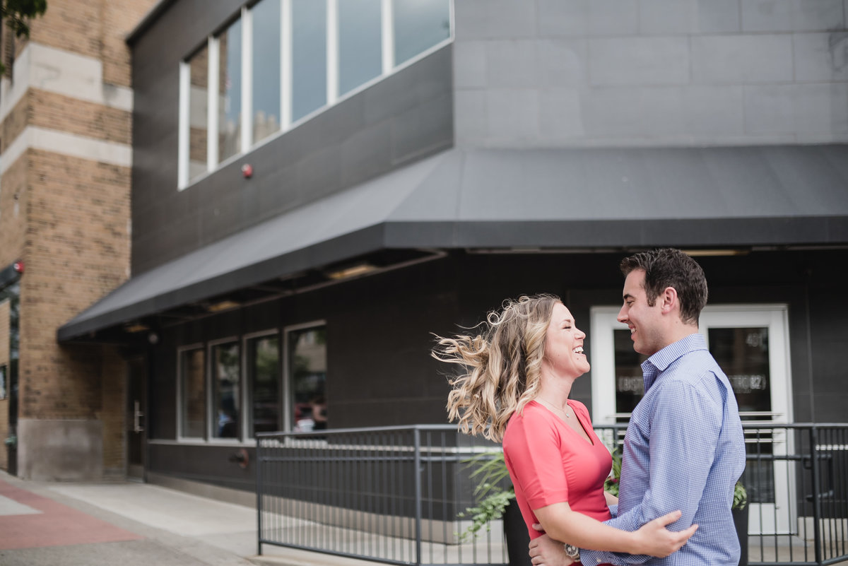 royal oak summer engagement photos