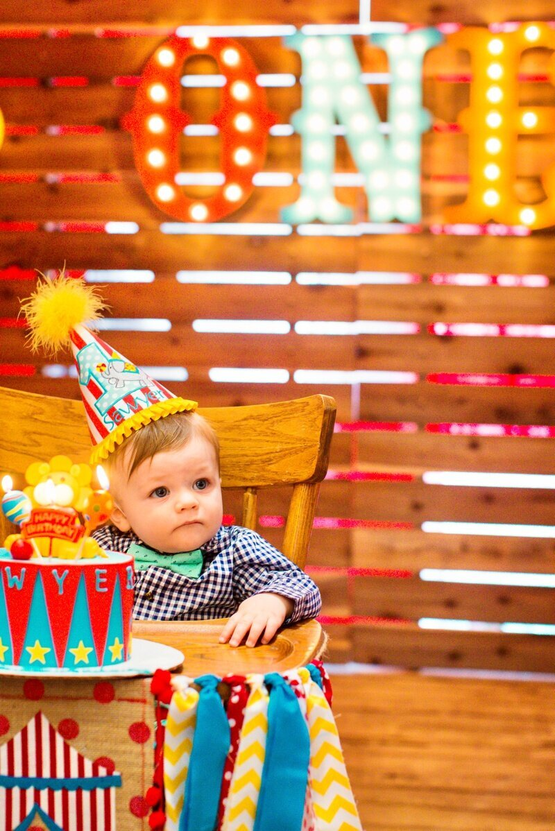 Circus Themed 1st Birthday Indianapolis Party Planner_0138