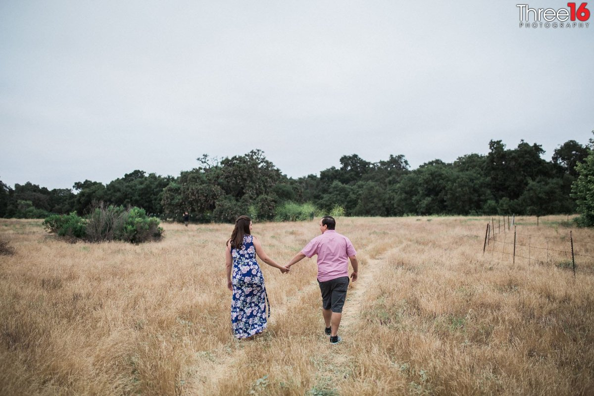 Thomas F. Riley WIlderness Park Engagement Nature Orange County  Professional Photographer